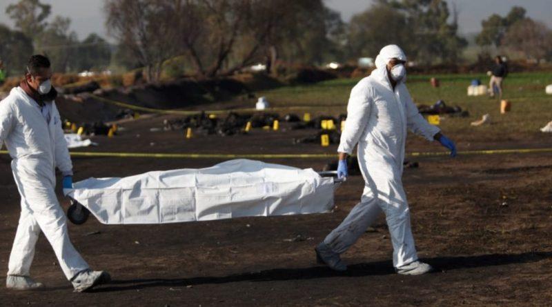 Incrementa a 71 la cifra  de fallecidos y a 75 el número  de heridos en Tlahuelilpan