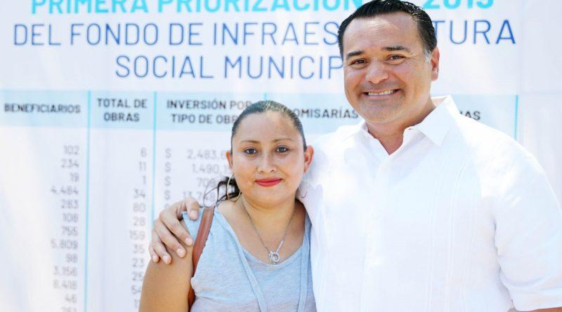 Mejores condiciones de vida  para familias de Mérida y  sus comisarías