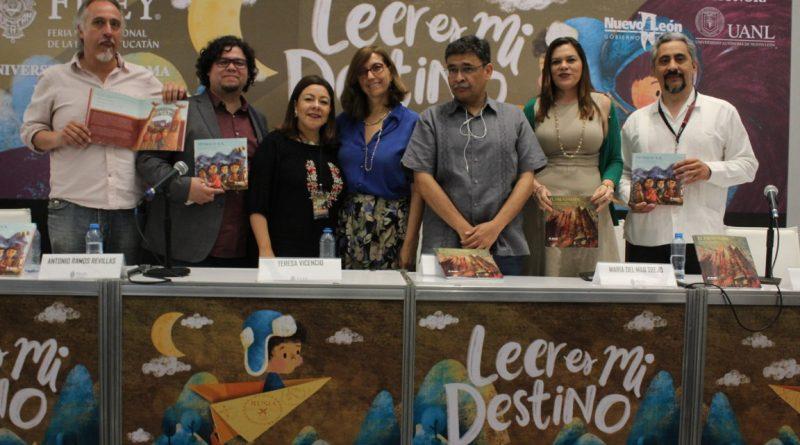 Presenta INE , nuevos libros de cuento y novela gráfica