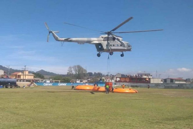 Antes de la tragedia, piloto  de helicóptero graba video