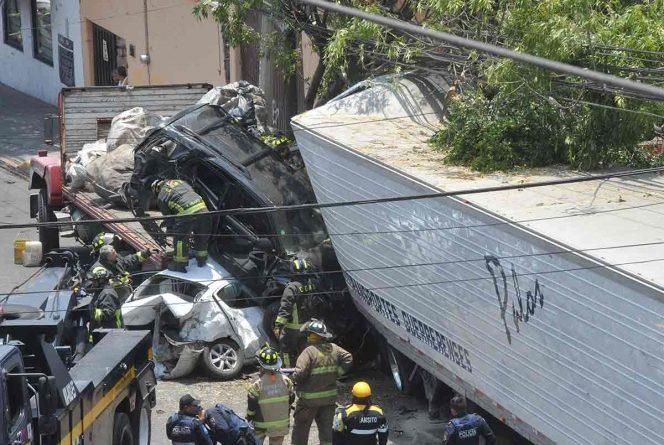 Así detuvieron al chofer de  tráiler que dejó 4 muertos  en Santa Fe