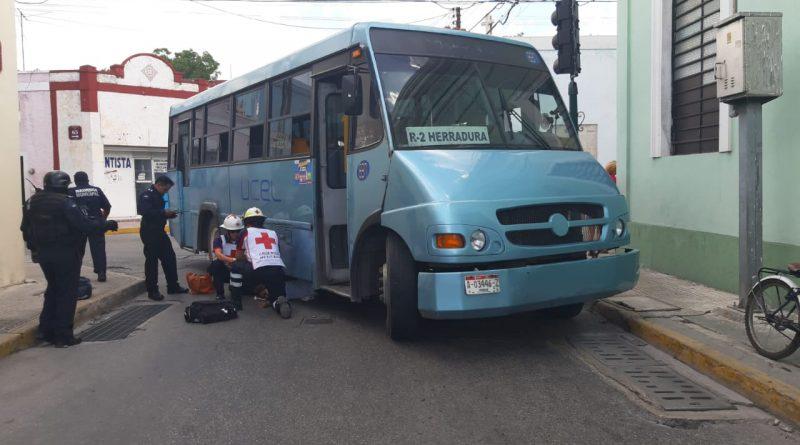 Descuidado camionero  atropella a ciclista