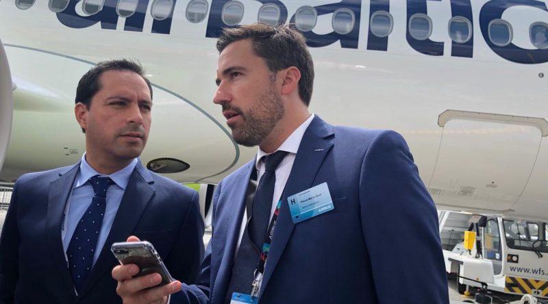 Yucatán despierta el interés  de la industria aeronáutica