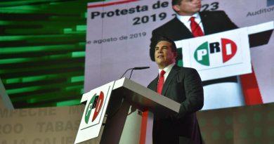 El PRI inicia una nueva  era: Alejandro Moreno