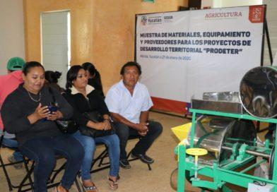 Garantiza Seder equipo de calidad para pequeños productores rurales