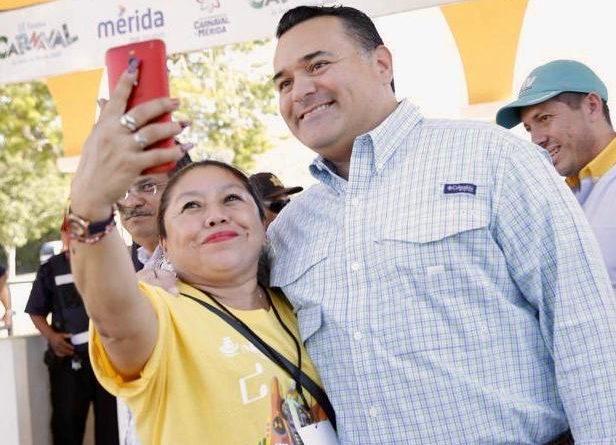 """Se promueve en el Carnaval  el uso de la app """"Línea Mujer"""""""