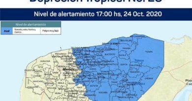 Se emite alerta azul para el oriente del estado