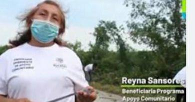 Los yucatecos trabajamos juntos en  Programas de apoyo