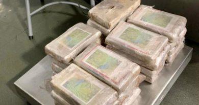 Aduanas, Marina y GN decomisan 29 kilos de cocaína en el AICM provenientes de Colombia