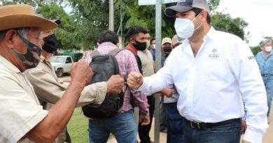 Mauricio Vila apoya a productores del Cono Sur de Yucatán