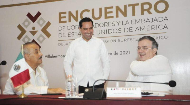 Construyamos juntos soluciones y busquemos alternativas, para detonar a México y el sureste: MVD