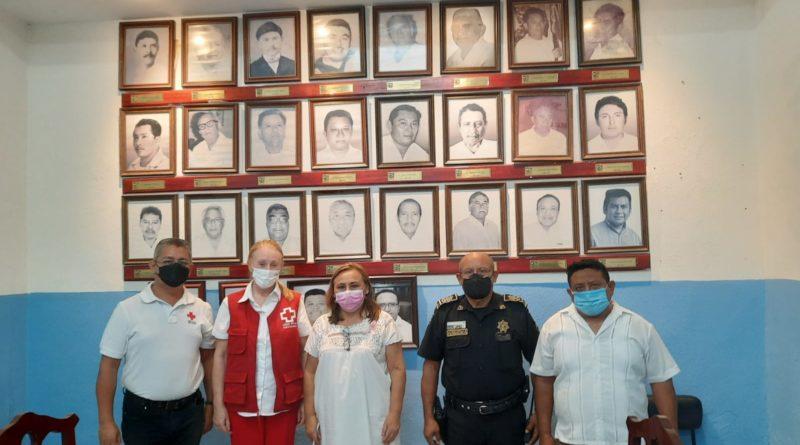Cruz Roja fortalece trabajo coordinado con Hunucmá